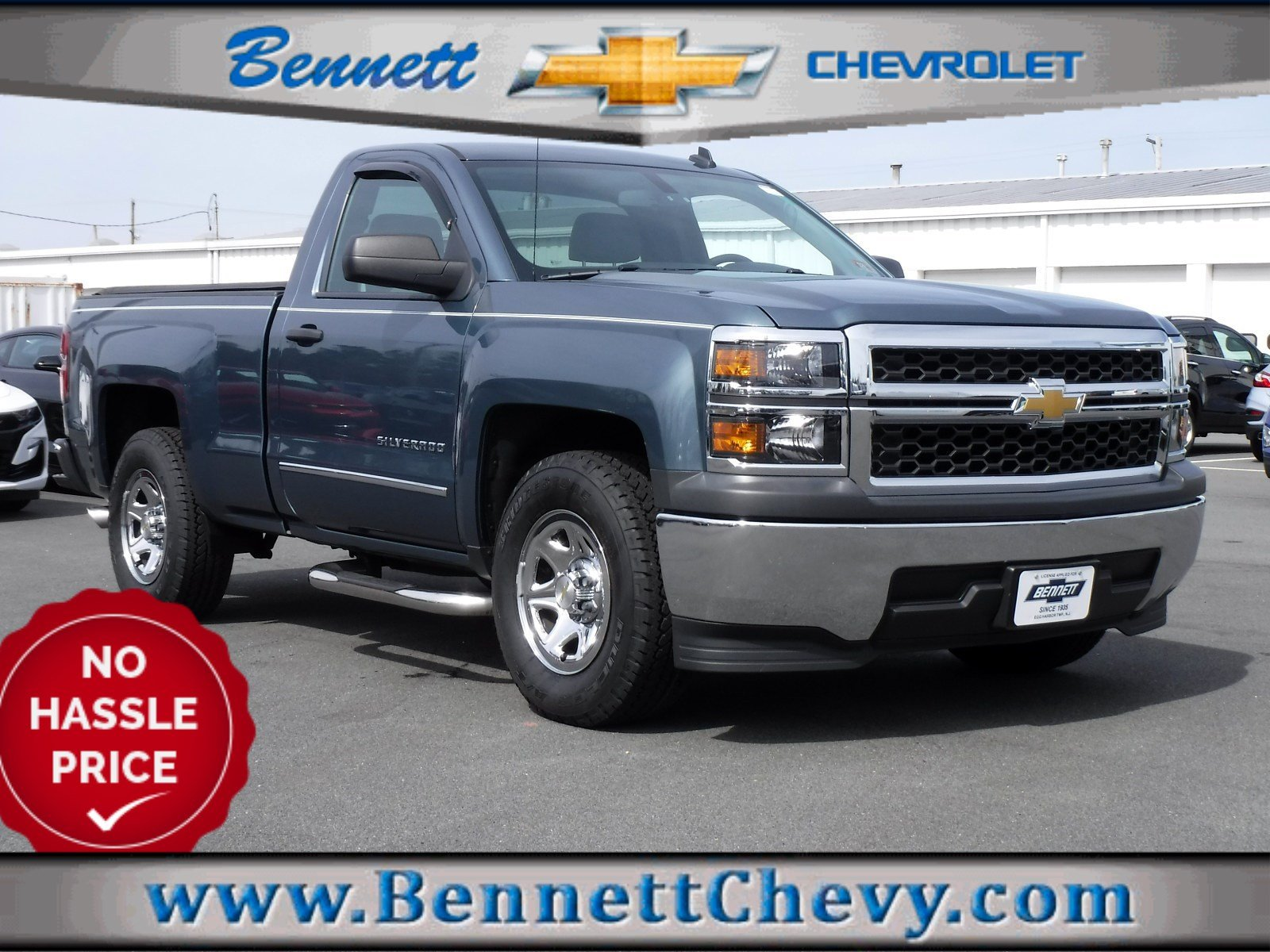 Certified Pre-Owned 2014 Chevrolet Silverado 1500 Work Truck