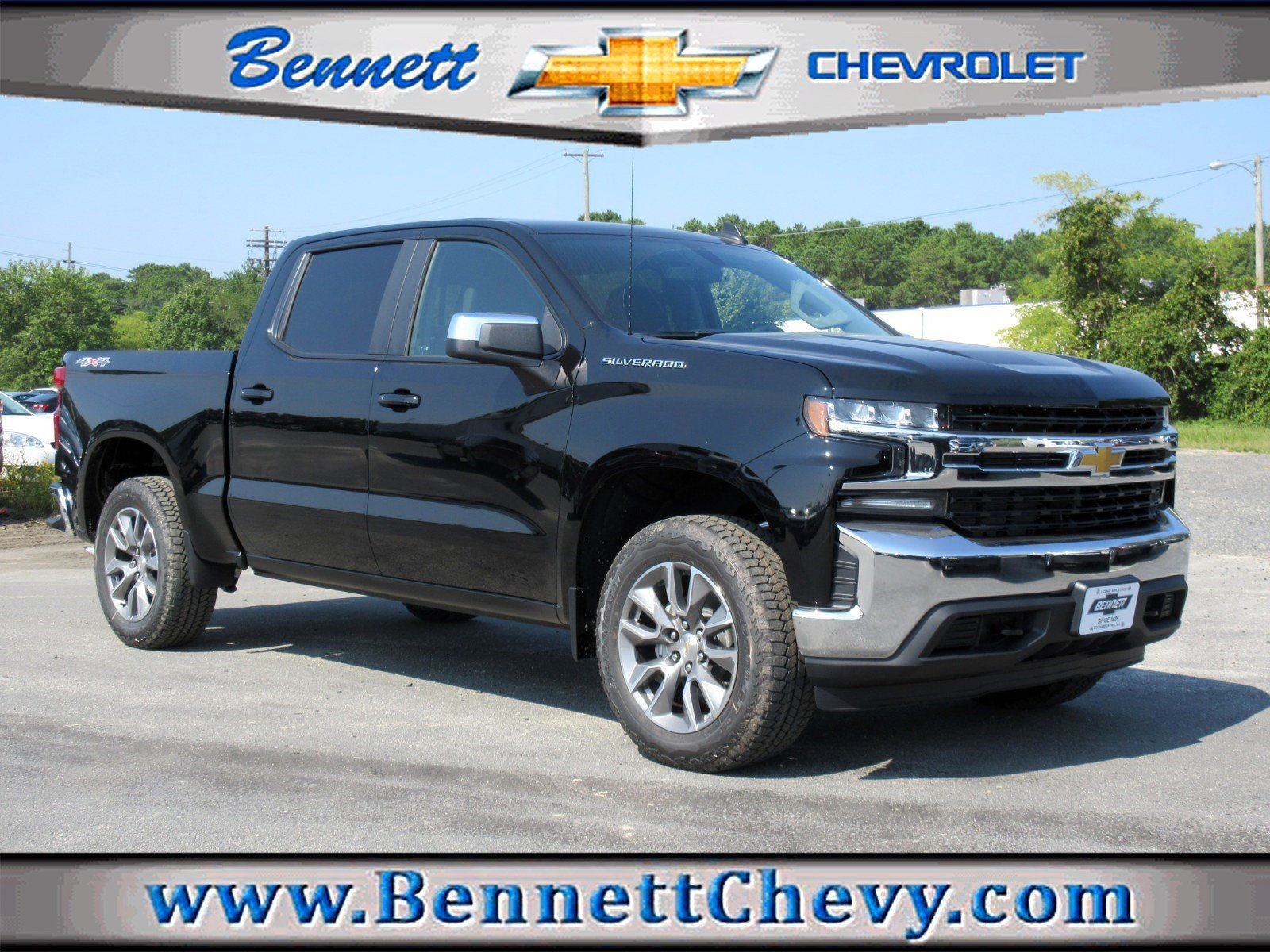 New 2019 Chevrolet Silverado 1500 Lt Crew Cab Pickup In Egg Harbor