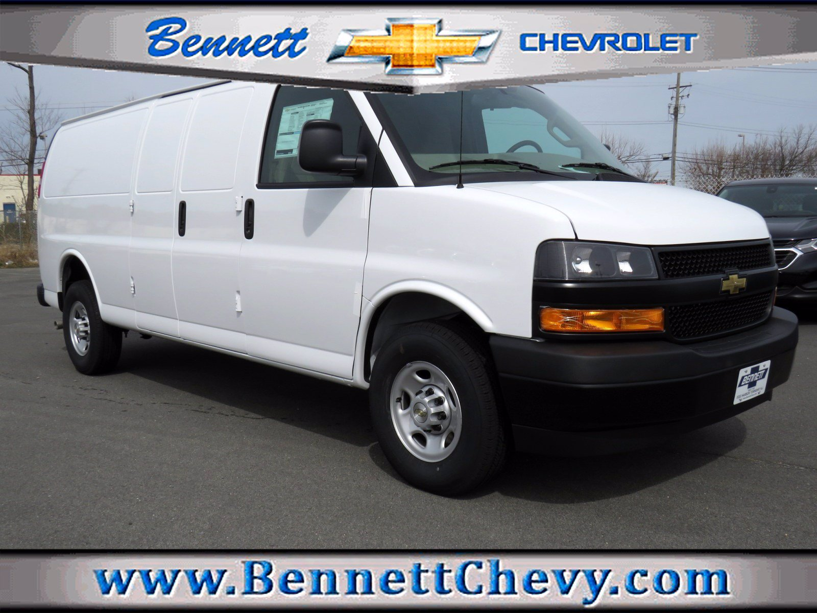 New 2020 Chevrolet Express Cargo Van