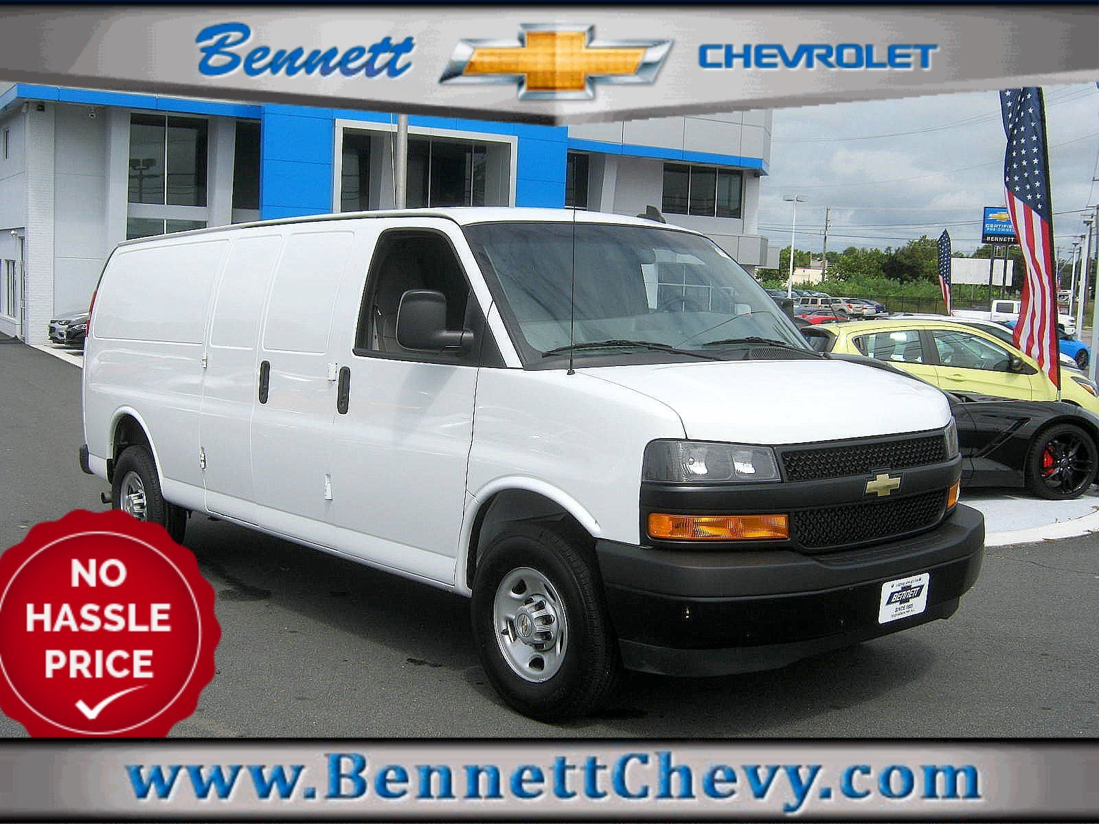 Certified Pre-Owned 2018 Chevrolet Express Cargo Van