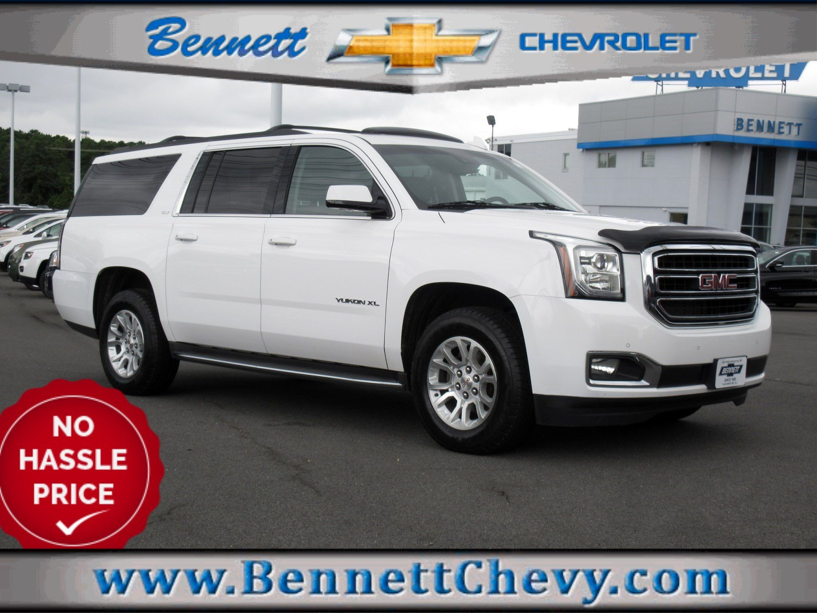Certified Pre-Owned 2015 GMC Yukon XL SLT
