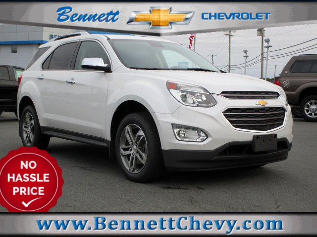 Certified Pre-Owned 2016 Chevrolet Equinox LTZ With Navigation